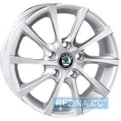 Купить REPLICA Skoda JT-1263 SiL R16 W6.5 PCD5x112 ET45 DIA57.1