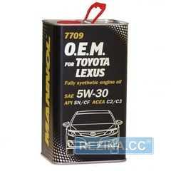 Купить Моторное масло MANNOL O.E.M. 7709 For Toyota Lexus (4л) metall
