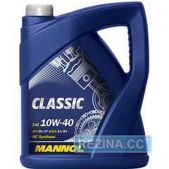 Купить Моторное масло MANNOL Classic 10W-40 (4л)