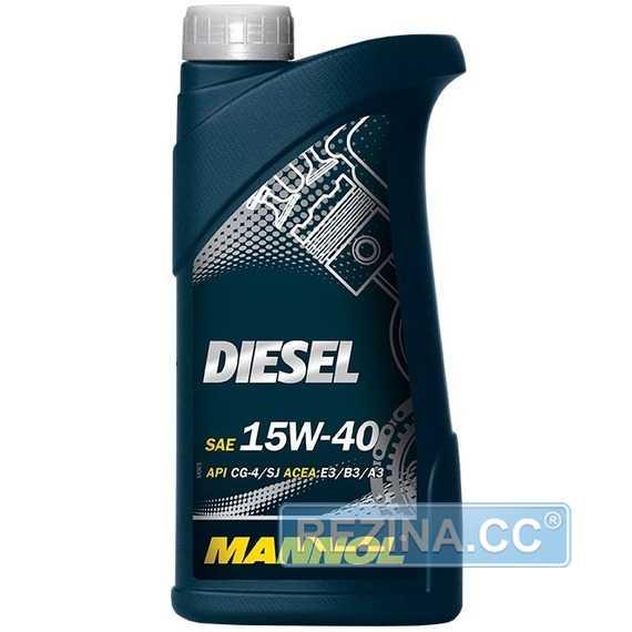 Моторное масло MANNOL Diesel - rezina.cc
