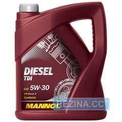Купить Моторное масло MANNOL Diesel TDI 5W-30 (5л)