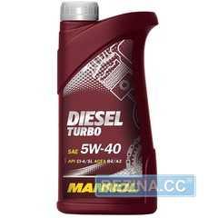 Моторное масло MANNOL Diesel Turbo - rezina.cc
