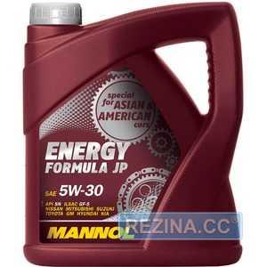 Купить Моторное масло MANNOL Energy Formula JP 5W-30 (4л)