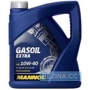 Купить Моторное масло MANNOL Gasoil Extra 10W-40 (4л)