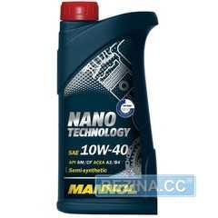 Моторное масло MANNOL Nano Technology - rezina.cc