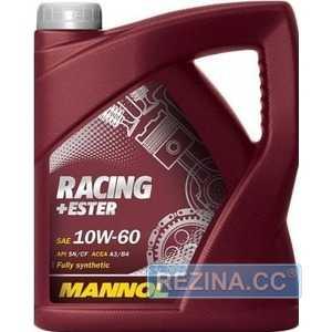 Купить Моторное масло MANNOL Racing+Ester 10W-60 (4л)