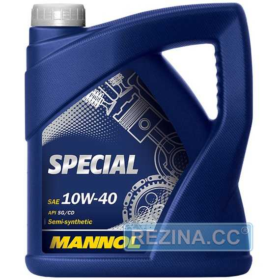 Моторное масло MANNOL Special - rezina.cc