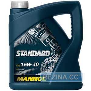 Купить Моторное масло MANNOL Standard 15W-40 (5л)