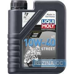 Купить Масло для мотоциклов LIQUI MOLY Motorbike 4T Street 10W-40 (1л)