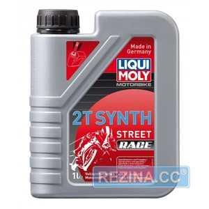 Купить Масло для мотоциклов LIQUI MOLY Motorbike 2T Synth Street Race (1л)