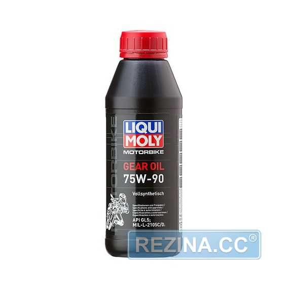 Трансмиссионное масло LIQUI MOLY Motorbike Gear Oil - rezina.cc