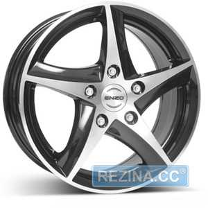 Купить ENZO 101 dark BASE Black/polished R16 W7 PCD5x100 ET35 DIA60.1