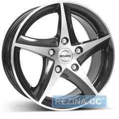 Купить ENZO 101 dark BASE Black/polished R16 W7 PCD5x108 ET48 DIA70.1