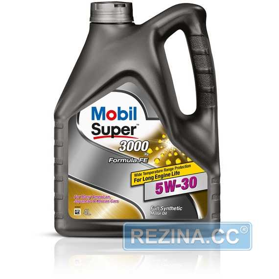 Моторное масло MOBIL Super 3000 X1 Formula FE - rezina.cc