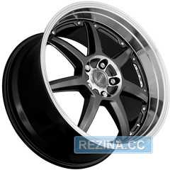 DOTZ Fast Seven BASE Gunmetal/polished - rezina.cc
