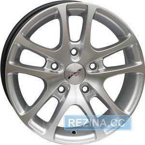 Купить RS WHEELS Classic 244 HS R14 W6 PCD4x108 ET35 DIA63.4