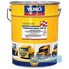 Купить Моторное масло YUKOIL Turbosynt Diesel 10W-40 CF-4/SG (20л)