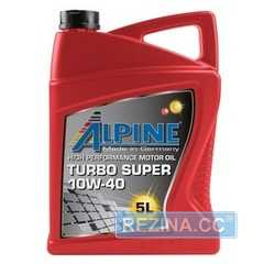 Моторное масло ALPINE Turbo SHPD - rezina.cc