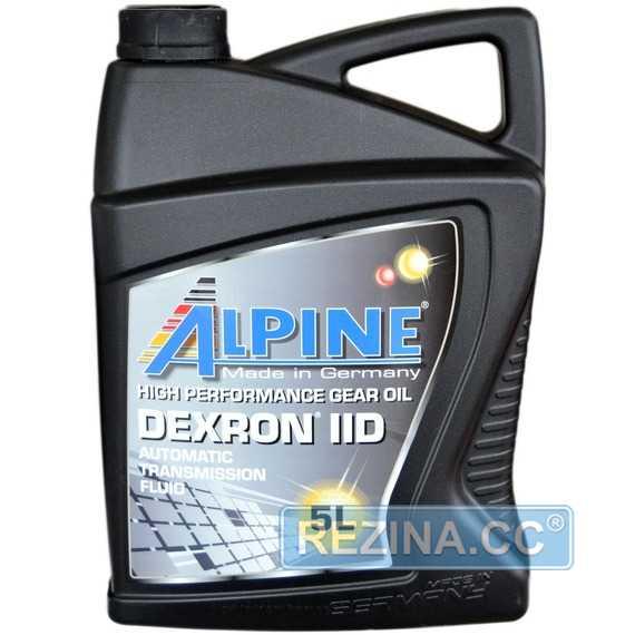 Трансмиссионное масло ALPINE ATF Dexron IID - rezina.cc
