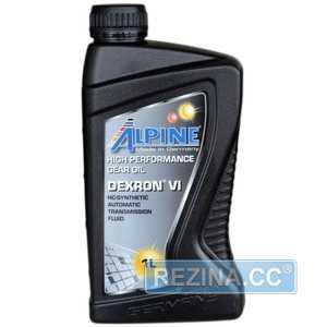 Купить Трансмиссионное масло ALPINE ATF Dexron VI (1л)