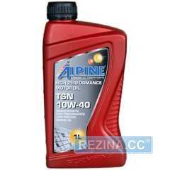 Моторное масло ALPINE TSN - rezina.cc