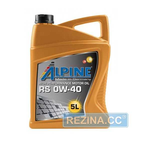 Моторное масло ALPINE TS - rezina.cc