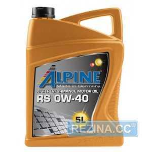 Купить Моторное масло ALPINE TS 10W-40 SL/CF (5л)