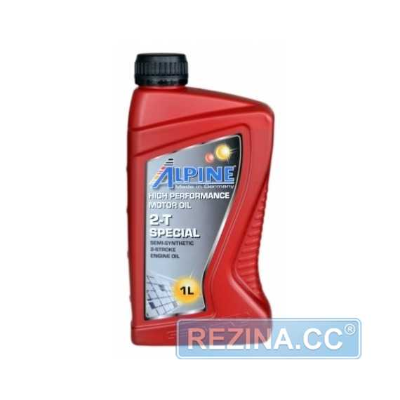 Моторное масло ALPINE 2T Special TC - rezina.cc