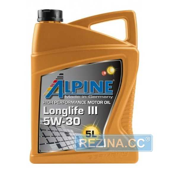Моторное масло ALPINE Longlife III - rezina.cc