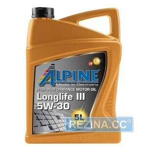 Купить Моторное масло ALPINE Longlife III 5W-30 C3 (5л)