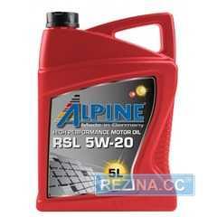 Купить Моторное масло ALPINE RSL 5W-20 SN GF-5 (4л)