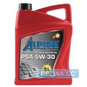 Купить Моторное масло ALPINE PSA 5W-30 C2 (5л)