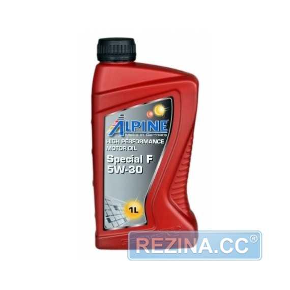 Моторное масло ALPINE Special F - rezina.cc