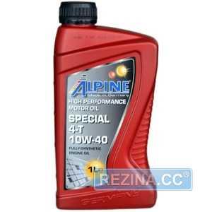 Купить Моторное масло ALPINE 4T Special 10W-40 SL (1л)