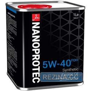 Купить Моторное масло NANOPROTEC Engine Oil 5W-40 PDI+ (1л)