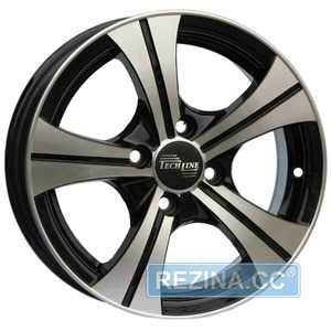 Купить TECHLINE 410 BD R14 W5.5 PCD4x100 ET43 DIA67.1