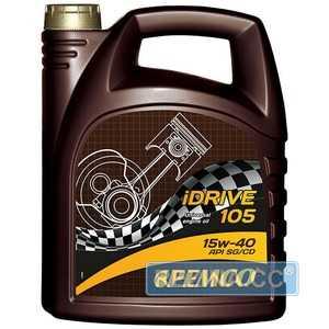 Купить Моторное масло PEMCO iDrive 105 15W-40 SG/CD (5л)