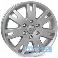 Купить WSP ITALY MERCEDES SPRINTER SIX ME70 SILVER W770 R16 W6.5 PCD6x130 ET62 DIA84.1