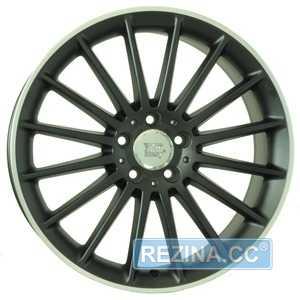 Купить WSP ITALY MERCEDES SHANGHAI ME12 DULL BLACK R POLISHED W773 R19 W8.5 PCD5x112 ET44 DIA66.6