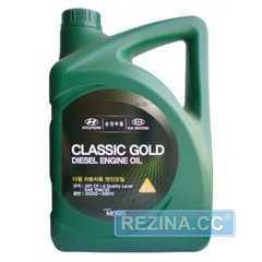 Купить Моторное масло HYUNDAI Mobis Classic Gold Diesel 10W-30 (6л)