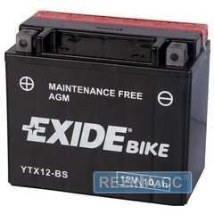 Купити Акумулятор EXIDE AGM 6СТ-10 12В L (ETX12-BS)