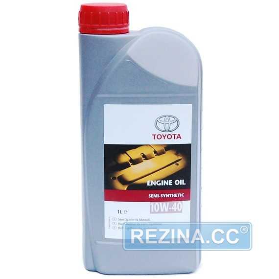 Моторное масло TOYOTA Engine Oil Semi-Synthetic - rezina.cc