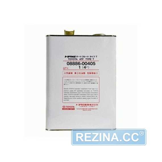 Трансмиссионное масло TOYOTA ATF Type T - rezina.cc