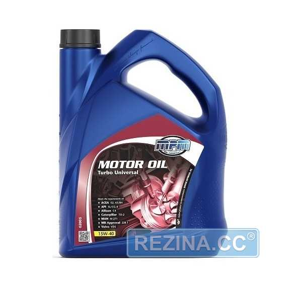 Моторное масло MPM Motor Oil Turbo Universal - rezina.cc
