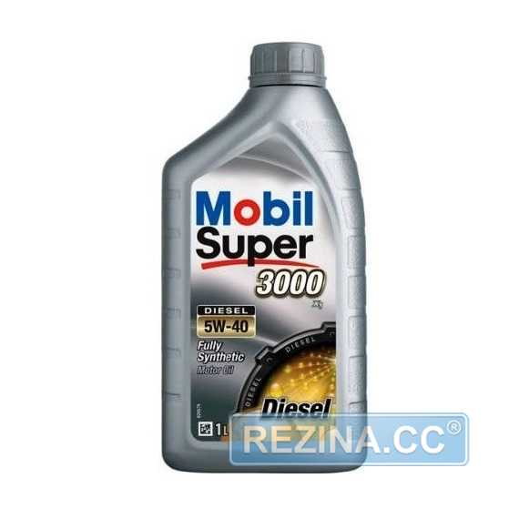 Моторное масло MOBIL Super 3000 X1 DIESEL - rezina.cc