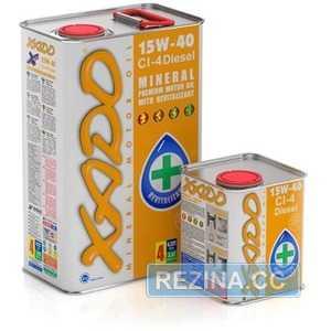 Купить Моторное масло XADO Atomic Oil 15W-40 CI-4 Diesel (4л)