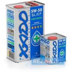 Купить Моторное масло XADO Atomic Oil 5W-50 SL/CF (4л)