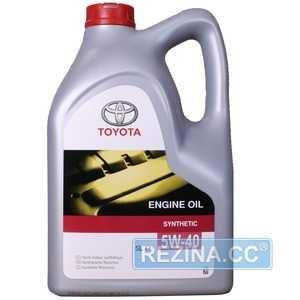Купить Моторное масло TOYOTA MOTOR OIL 5W-40 SL/CF (5л)