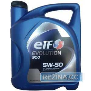 Купить Моторное масло ELF EVOLUTION 900 5W-50 (4л)