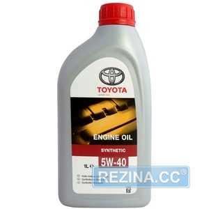 Купить Моторное масло TOYOTA MOTOR OIL 5W-40 SL/CF (1л)